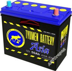АКБ TYUMEN BATTERY 6СТ-50 410А о.п Азия г.Тюмень