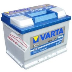 АКБ VARTA Blue D 60Ач 540А п.п. D43 (560 127 054)